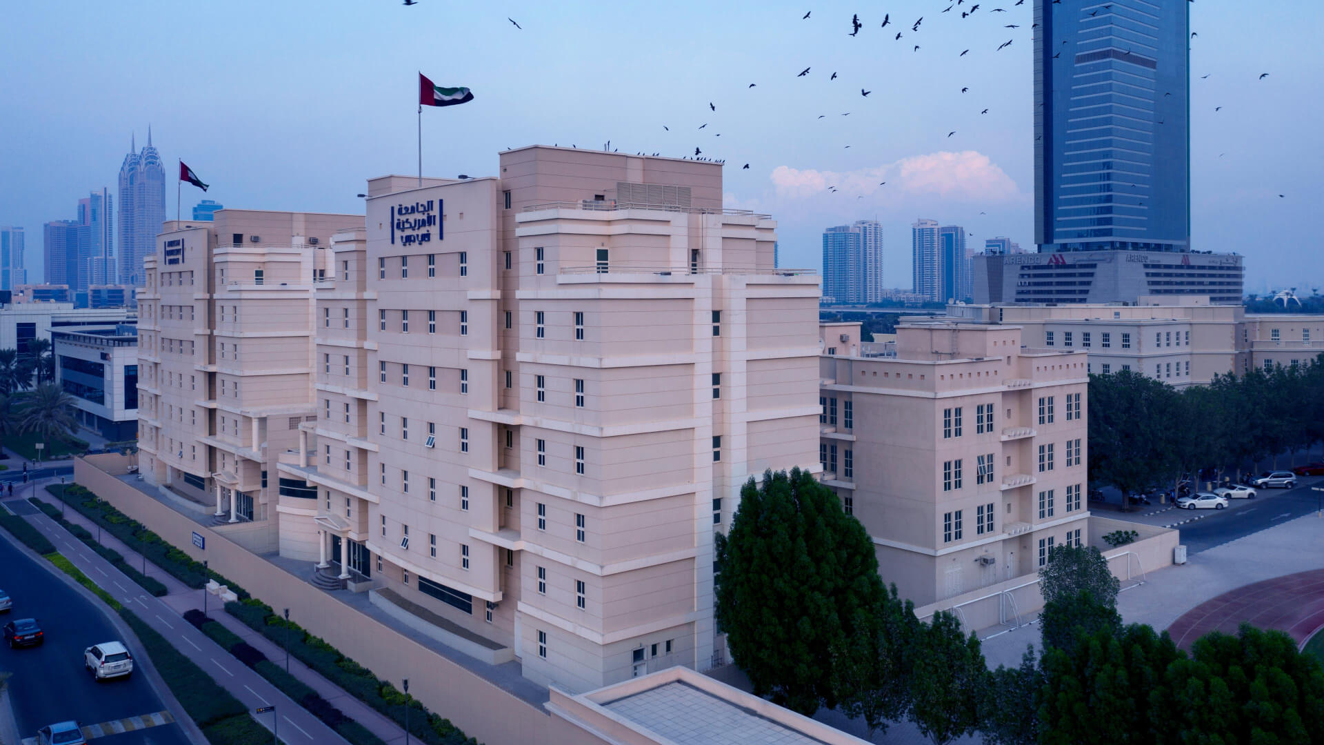 Accommodation - American University in Dubai