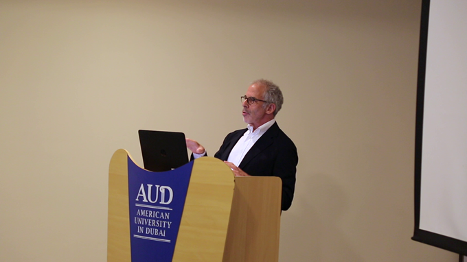 AUD Hosts Executive Session Series