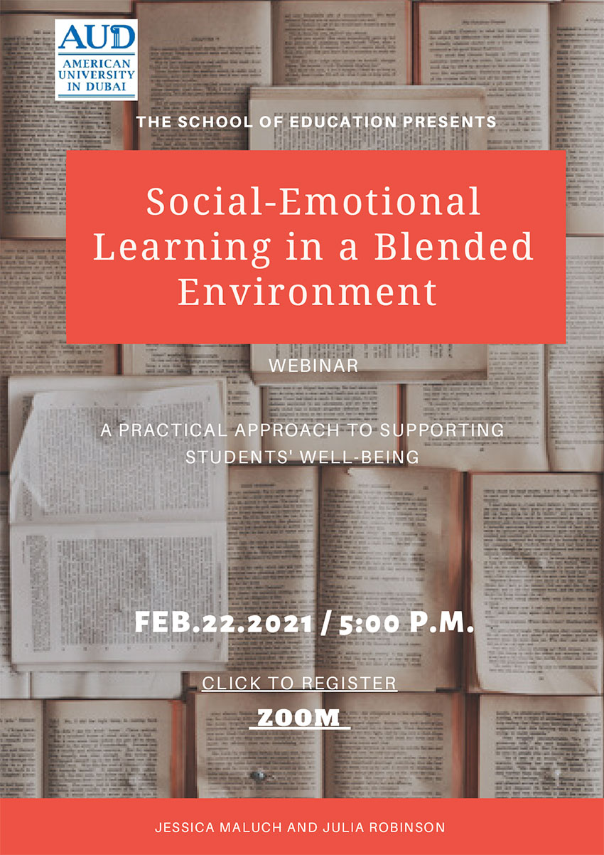 Social Emotional Learning in a Blended Environment Poster